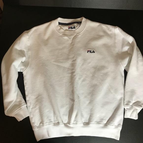 0d53f76ed7a2 FILA Tops   Vintage Crewneck Sweatshirt   Poshmark